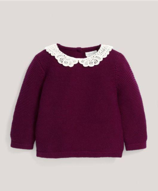 Crochet Lace Jumper