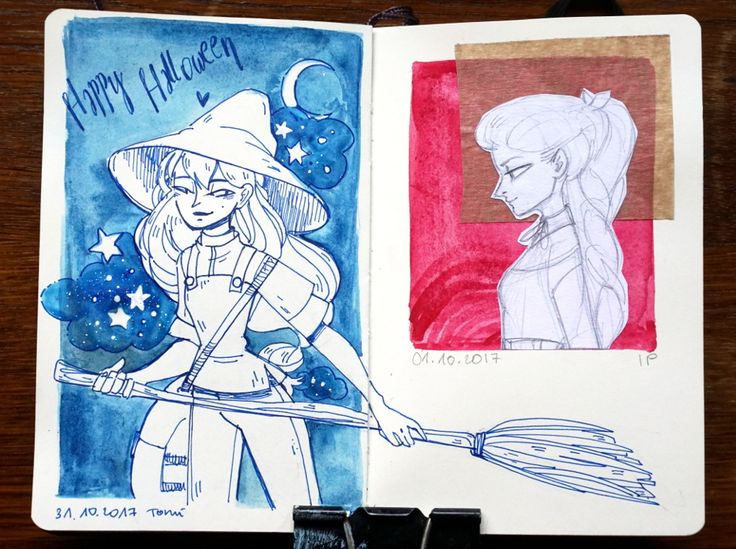 Sketchy sketches 31.10.17 by Madjsteie.deviantart.com on @DeviantArt