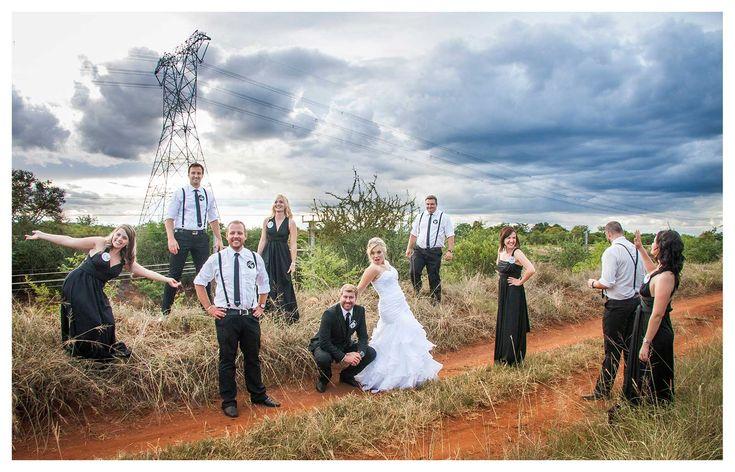Bruidgevolg foto idee