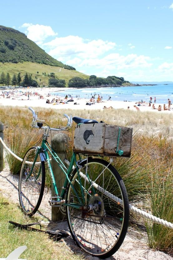 New Zealand photo by IaStepharoo / Frommer's Cover Photo Contest 2012 http://frm.rs/ejDojq - Mount Maunganui New Zealand, fabulous beach.