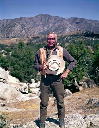 """Bonanza"" Lorne Greene as Ben ""Pa"" Cartwright 1964"