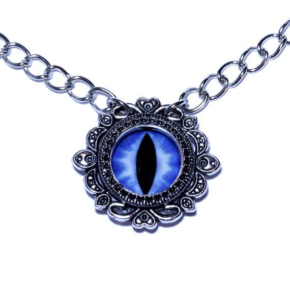 Neo Victorian Jewelry  Blue Dragon Eye by CatherinetteRings, $30.00