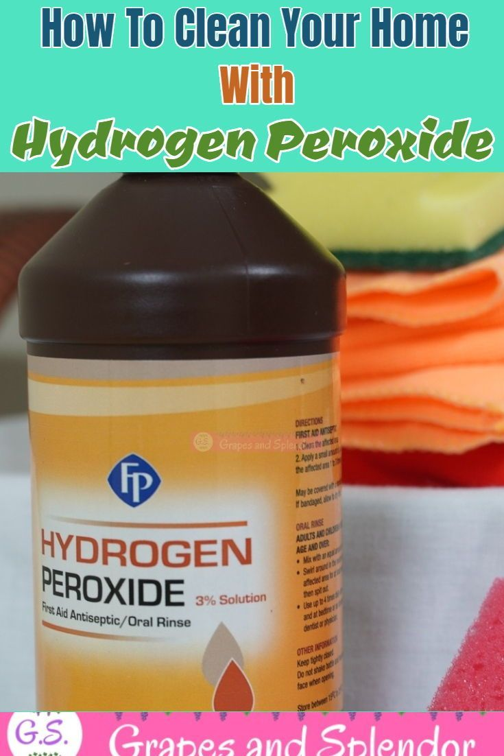 20 Hydrogen Peroxide Hacks You Need To Know About In 2020 Hydrogen Peroxide Uses Hydrogen Peroxide Household Hacks