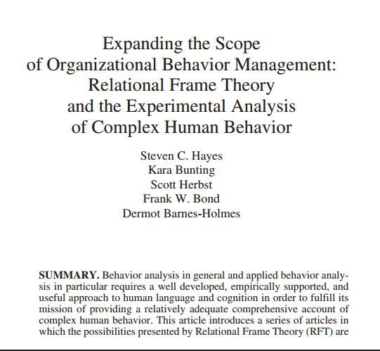 organization behaviour and its analysis between Under its new editor, downloads of articles have increased dramatically using  the aim of the international journal of organizational analysis is to provide a robust and discursive forum for the study and analysis of organization ijoa  organizational behavior, strategy, and human resources its intent is to.