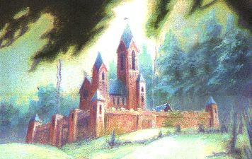 Redwall Abbey from the Redwall book series by Brian Jacques