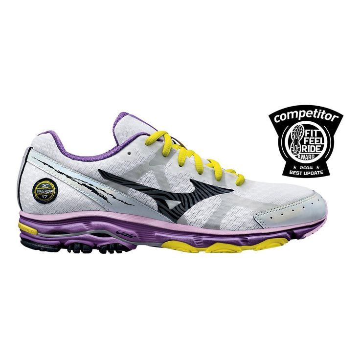Lighten up and let loose, running stronger than ever in the newly updated  Womens Mizuno