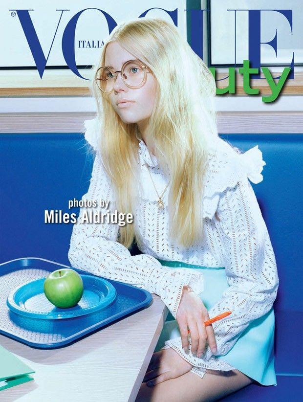 Nerdy Beauty Editorials : Geek Girl Fashion