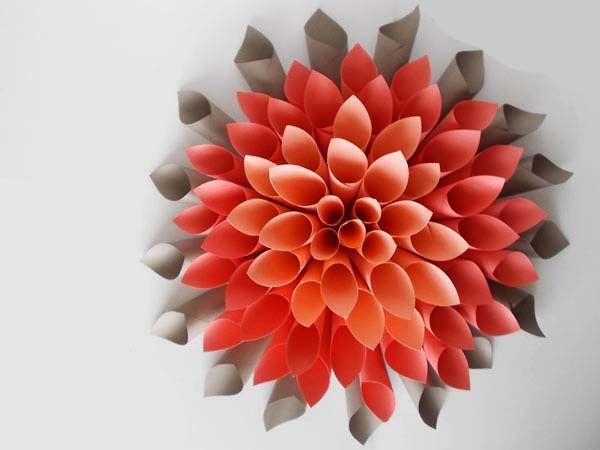 Bunga Dari Kertas Origami Tutorial Bunga Kertas Ide Kerajinan Bunga Kertas