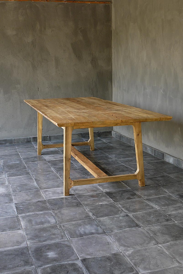 reclaimed teak & ideal proportions