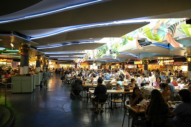 Ala Moana Center (ridiculously large food court): Honolulu, HI USA