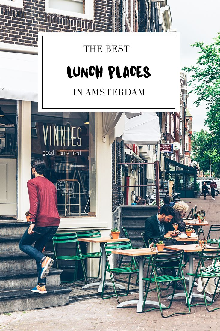 """Want to have lunch in the city center of Amsterdam? Visit  http://www.yourlittleblackbook.me to check out the list with 32 lunch hotspots, cafes, and bars. Planning a trip to Amsterdam? Check http://www.yourlittleblackbook.me & download """"The Amsterdam City Guide app"""" for Android & iOs with over 550 hotspots: https://itunes.apple.com/us/app/amsterdam-cityguide-yourlbb/id1066913884?mt=8 or https://play.google.com/store/apps/details?id=com.app.r3914JB"""