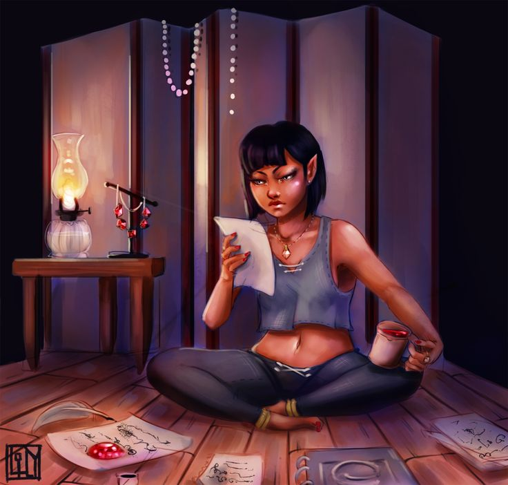 tiny ancient one ♥♥ Had this pic of Amren in my head for the longest time. The blood ruby paperweight killed me, guys. (Aaaaand, so has ACoMaF, for the record.)