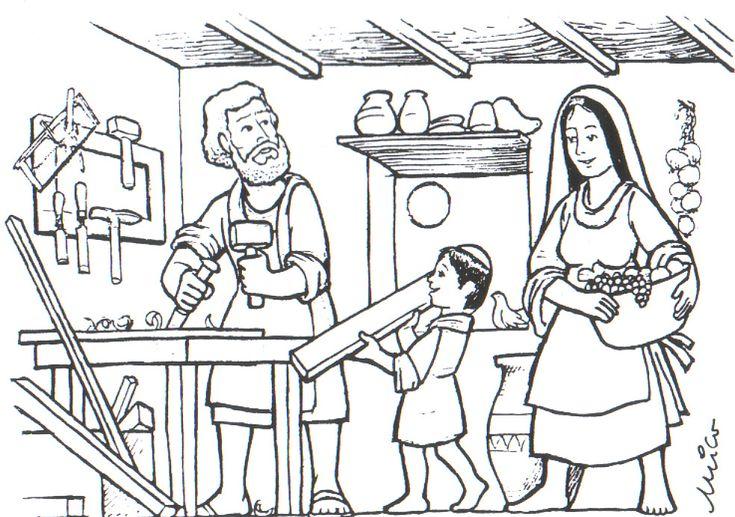 BLOG EDUCATIVO  JR GIRALDO : La familia de Jesús de Nazaret