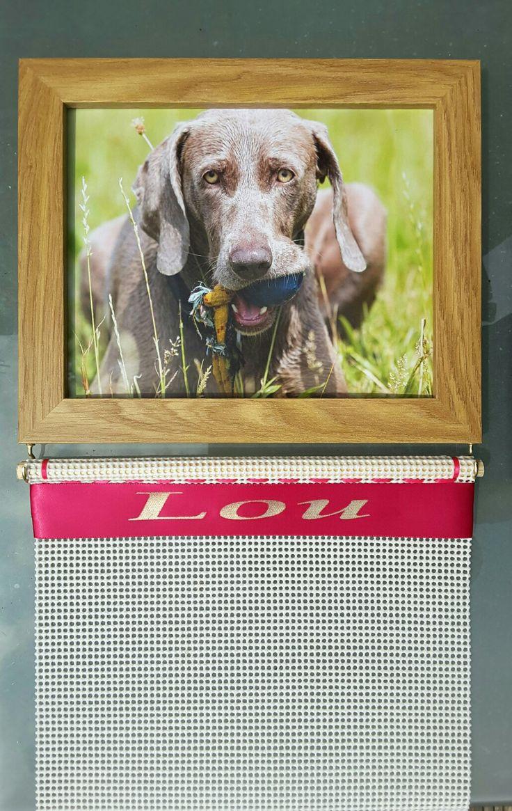 Photo frame rosette holder