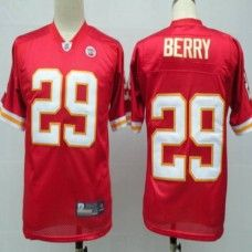 Chiefs #29 Eric Berry Red With Draft Player Stitched NFL Jersey