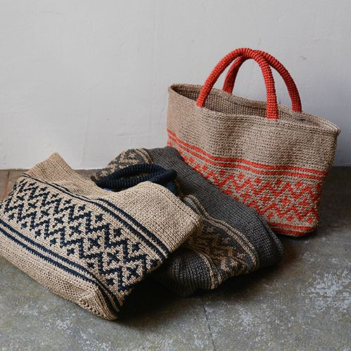 Envelope Online Shop - Crochet Tote Kit, MOORIT.