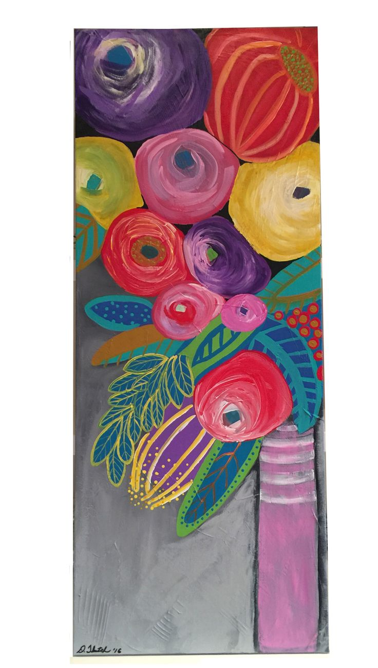 """Abstract Flower Number Five 16"""" x 40"""" x 1 1/2"""" by Diane Tkatch Found on http://laserspiderart.com"""