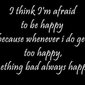 happy but sad quotes