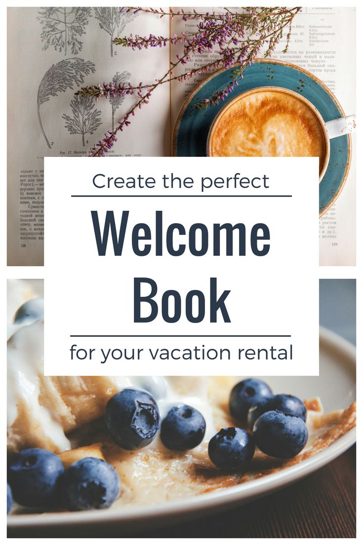 Vacation Rental Welcome Book Template -- Instant Digital Download MS Word documents, welcome letter, emergency procedures, wifi access, trash/recycling dos and don'ts and departure checklist. Airbnb, vrbo, homeaway templates