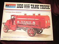 1926 MACK BULLDOG TANK TRUCK - MONOGRAM MODEL KIT #7539 - OPEN BOX DISCOUNTED