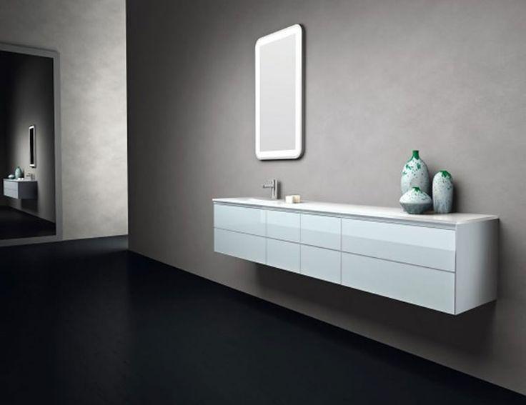 Oltre 25 fantastiche idee su mobili da bagno sospesi su for Mobili salvaspazio dal design italiano