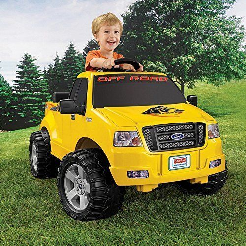 Riding Toy Battery Powered Power Wheels Lil F150 Truck Fisher-Price Kids Fun NEW #FisherPrice