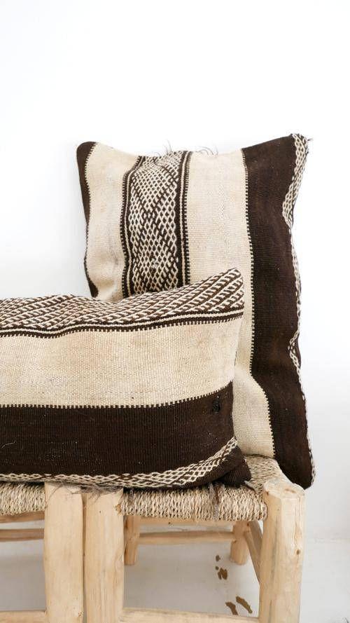 Moroccan Kilim Cushion SHADOUI Kilim