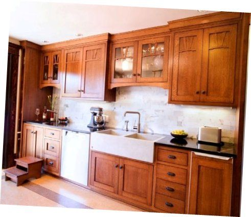 Mission Kitchen Cabinets Free Standing Shelves Hanging Wall Oak Cabinet Design Lik Craving An Actual