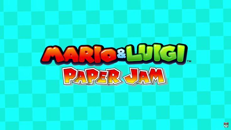 mario and luigi paper jam 1920x1080