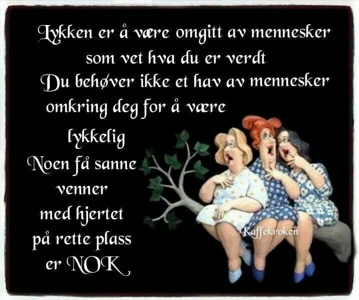 Norwegian - Happiness is to be surrounded by people who knows your walue. You dont need an ocean of people to be happy. Just a few true friends, with the hart in the right place, is enough <3