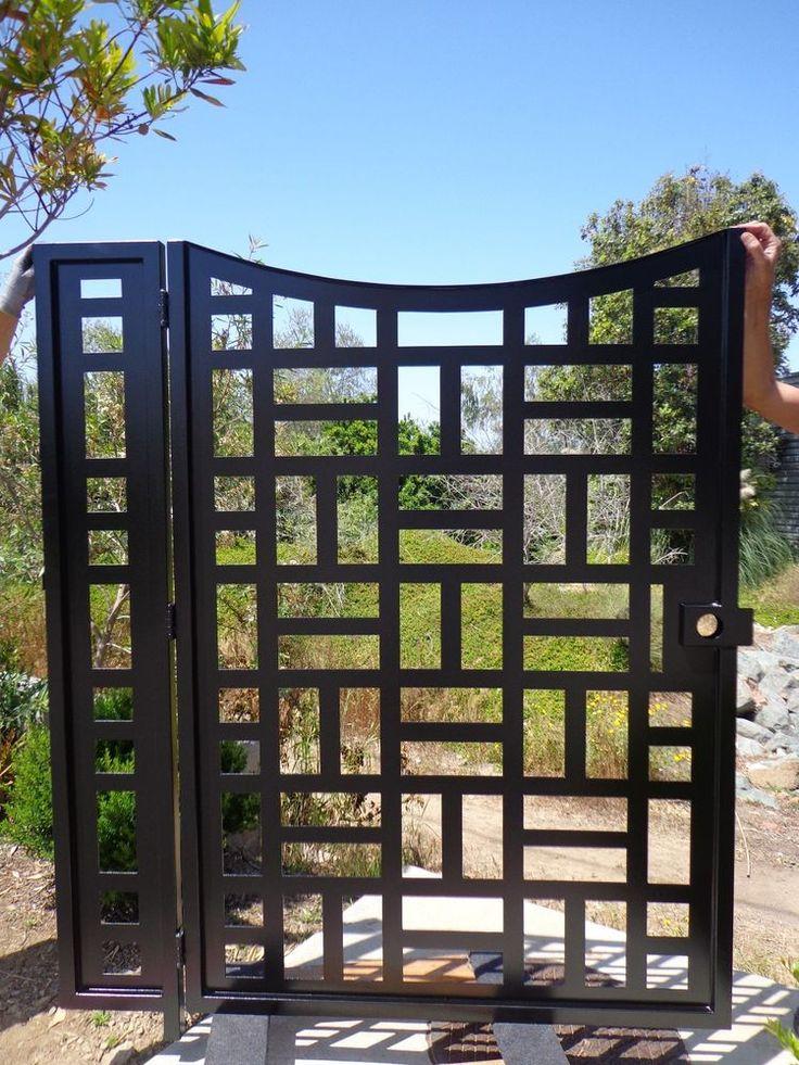 M s de 25 ideas incre bles sobre cercas de hierro forjado - Puertas de hierro para jardin ...