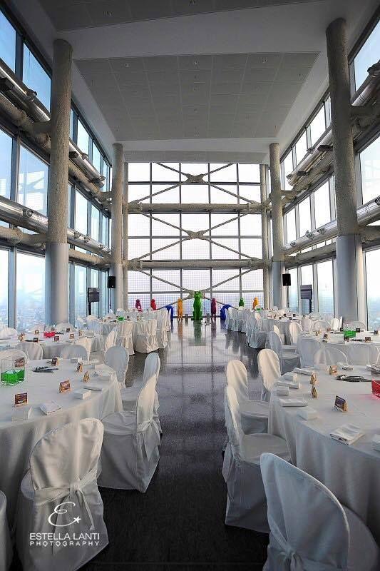 La bellissima sala della conferenza stama di Infant Charity Award di cui #birikini è partner