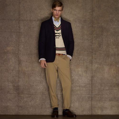 Wool Navy Sport Coat - Men's Suiting & Sport Coats from Rugby Ralph Lauren