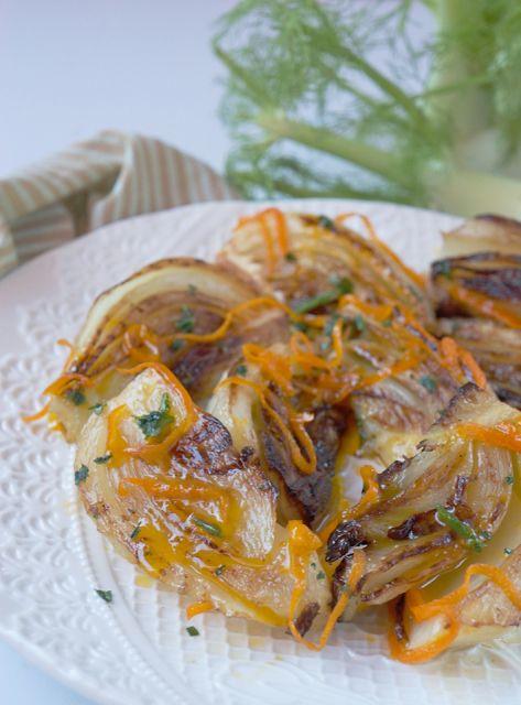 cucchiaio di stelle: Finocchi al burro di mandarini, il contorno per il pranzo di Natale