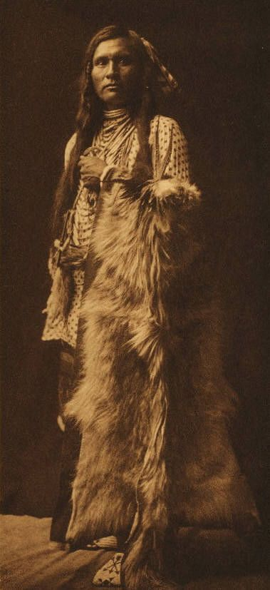 A Young Nez Perce by Edward Curtis