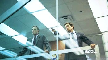 Love This Scene From White Collar.. So Funny!