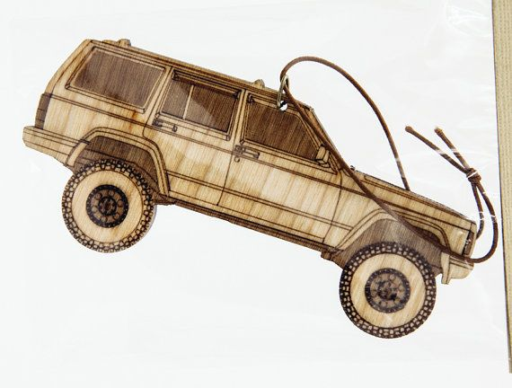 Air Freshener Jeep Cherokee xj by BamShifts on Etsy
