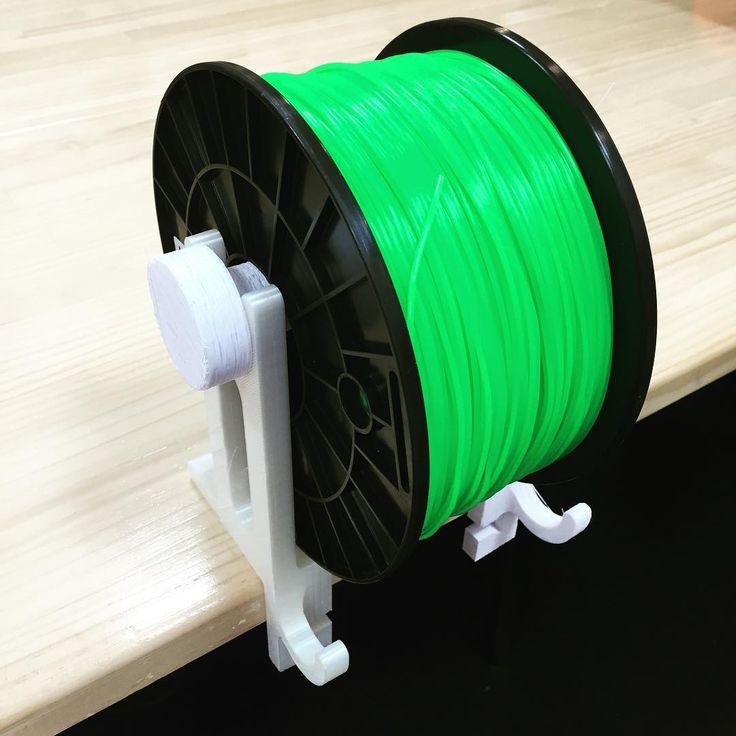 #3Dprinter #filament holder part is #3Dprinting done!! #3dprint