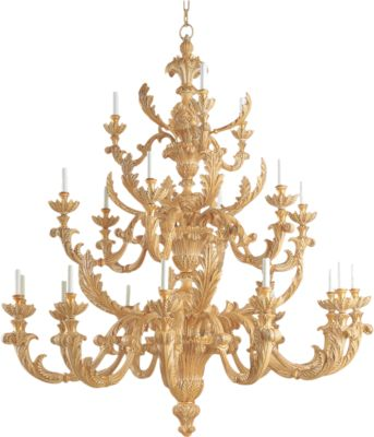 3 layer ivory made chandelier