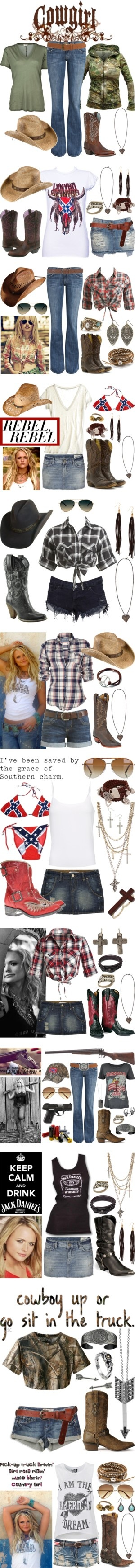 """""""Country Strong"""" by msjackiedaniels ❤ liked on Polyvore"""