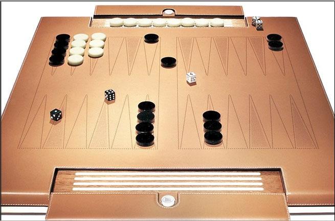 Backgammon board Tresserra design
