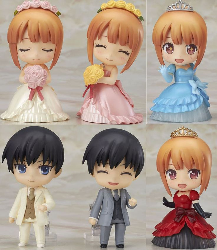 Nendoroid More Zubehör-Set für Nendoroid Actionfiguren Dress-Up Wedding