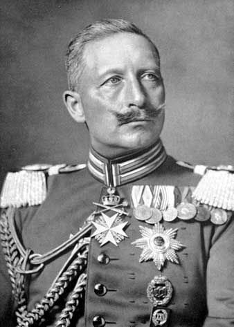Kaiser Wilhelm II- Ruler of the German Empire during World War I.