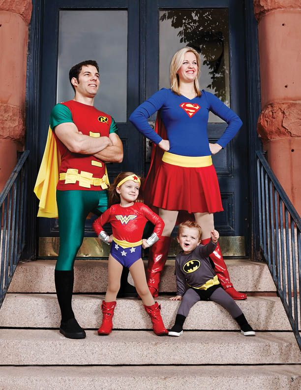 Super Family Costumes - Halloween Patterns and Templates | #vikingtoys