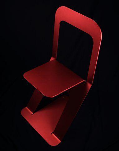 RED ZERO CHAIR - DORODESIGN Manifesto - Torino, Italia - 2012 - DORODESIGN