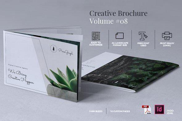 CreativeMarket  Creative Brochure Template Vol. 08 1786599 Free Download http://ift.tt/2ruocBG