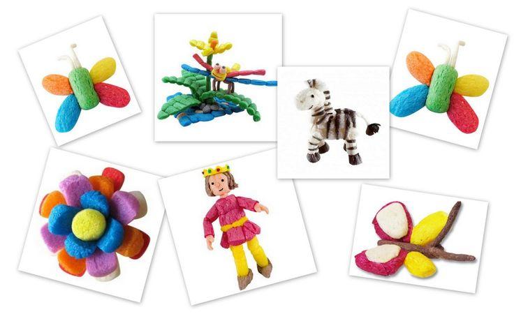 Creative Mindly: Manualidades con PlayMais (copos de maíz)