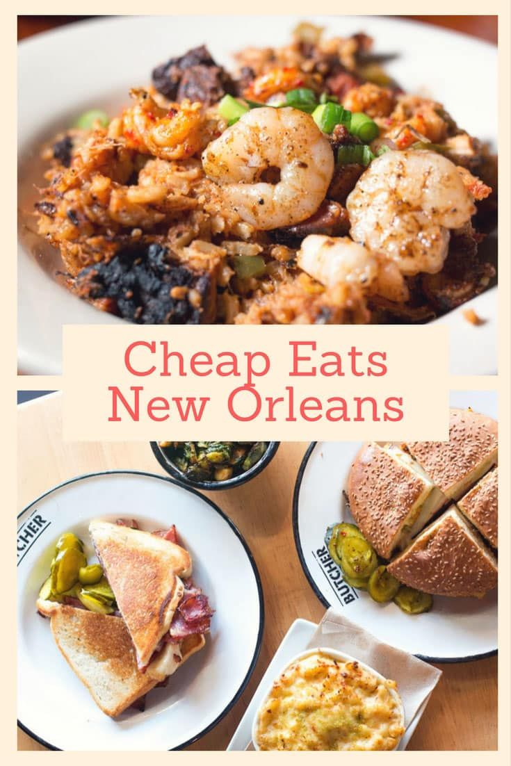 New Orleans is a fantastic food city. Check out our 10 favorite New Orleans restaurants and cafes for cheap eats in New Orleans.