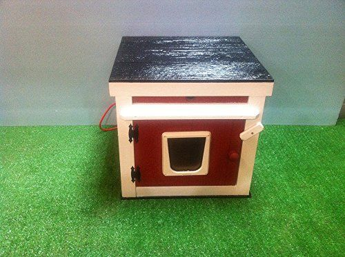 Large Outdoor Heated Cat House *** You can get more details by clicking on the image.