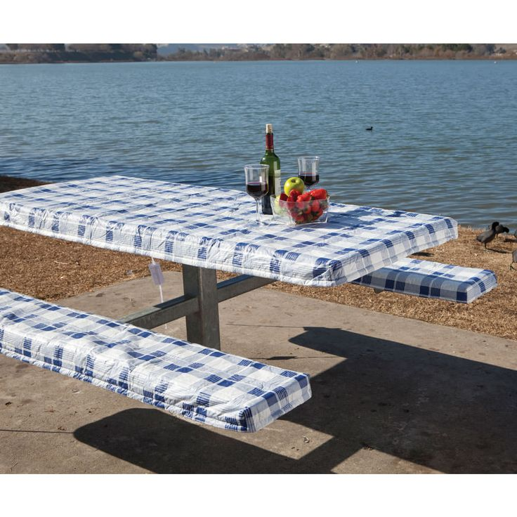 Deluxe Picnic Tablecloth U0026 Seat Covers